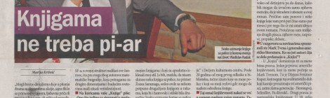 Pomodoro intervju, Danas, 26.05.2015